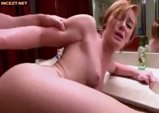 Cute and young beauty jerks off and sucks a hard dick