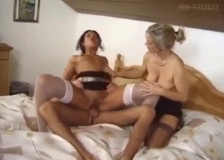 Two filthy sisters pleases their horny uncle