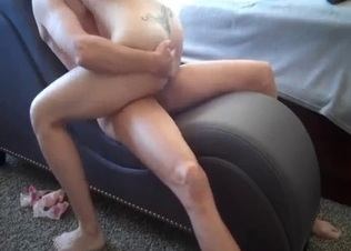 Hot-shaped redhead mom rides a loaded prick