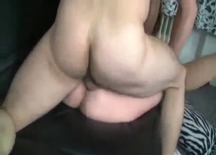 Dick-loving sister jerks off my hard dick